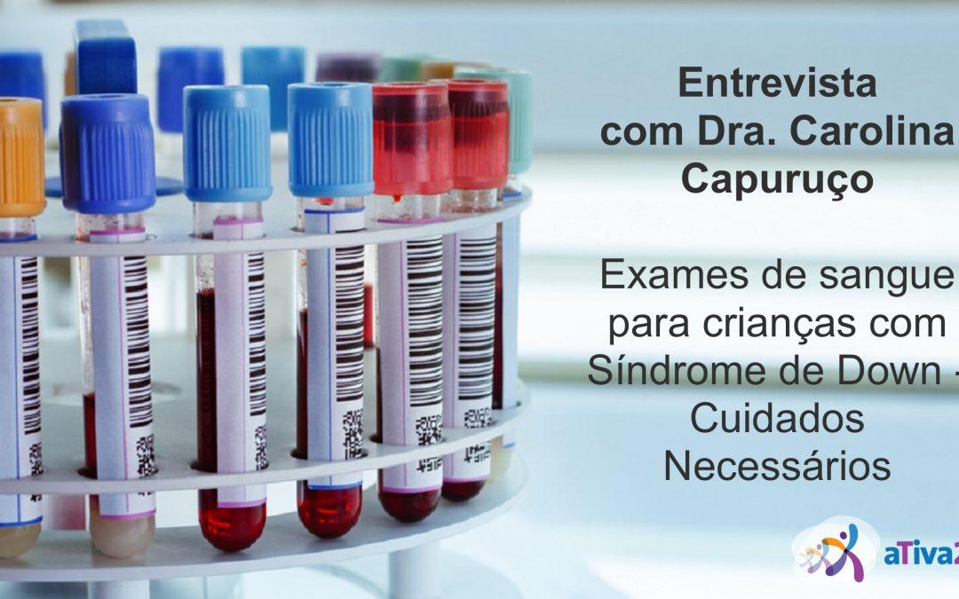 Cuidados em relação à realização de exames em crianças com síndrome de Down